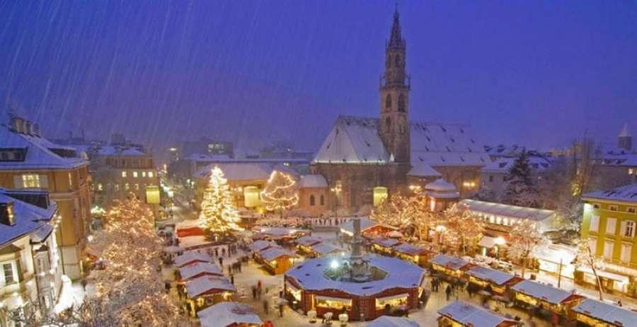 Mercatini Di Natale A Merano Foto.Mercatino Di Natale A Merano E Bolzano